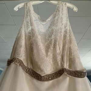 Davids Bridal Custom Wedding Dress